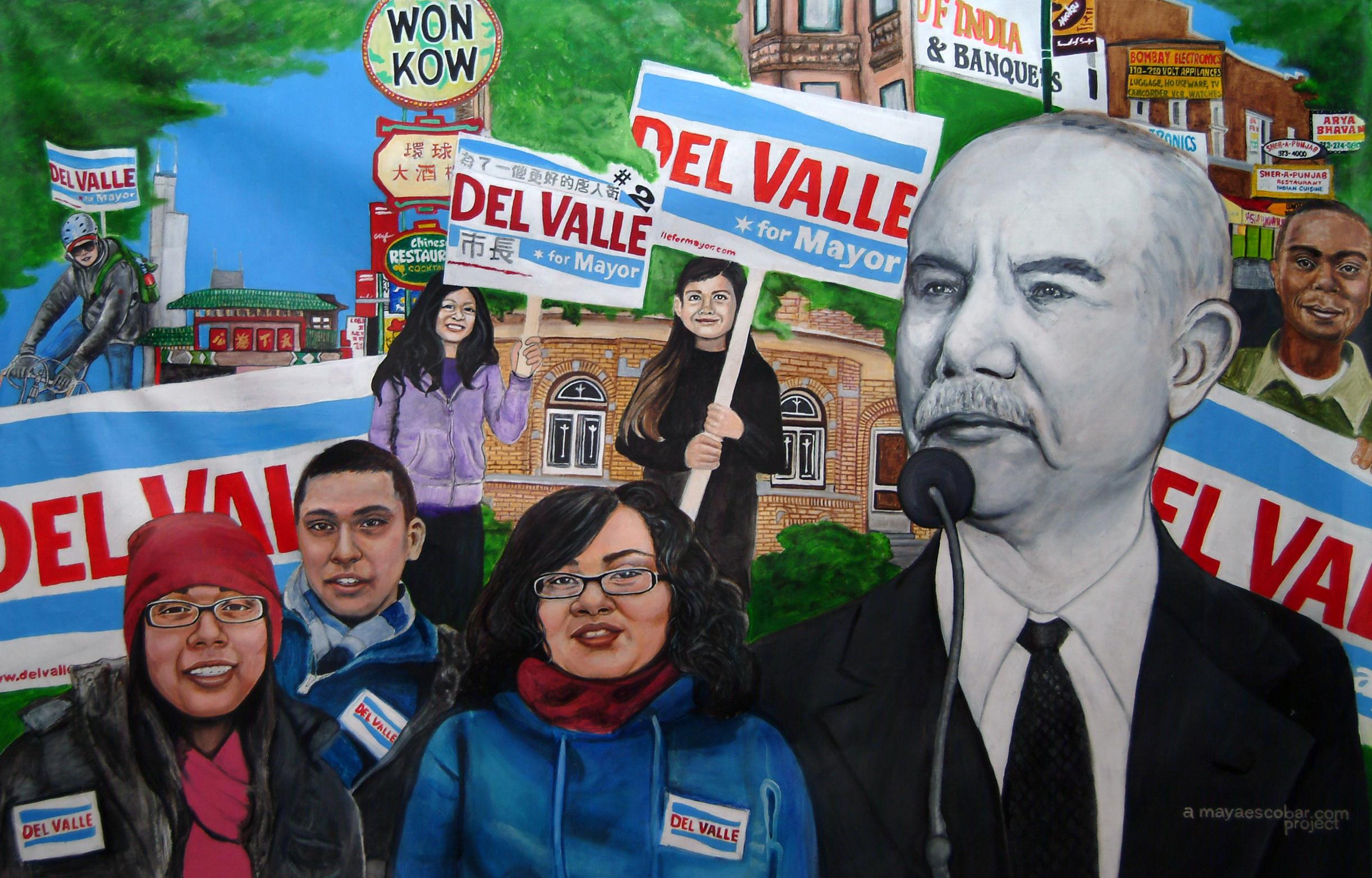 Miguel del Valle Mural