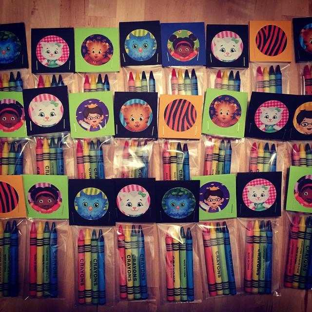 Daniel Tiger Crayons