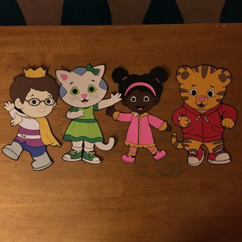 Daniel Tiger Diecuts