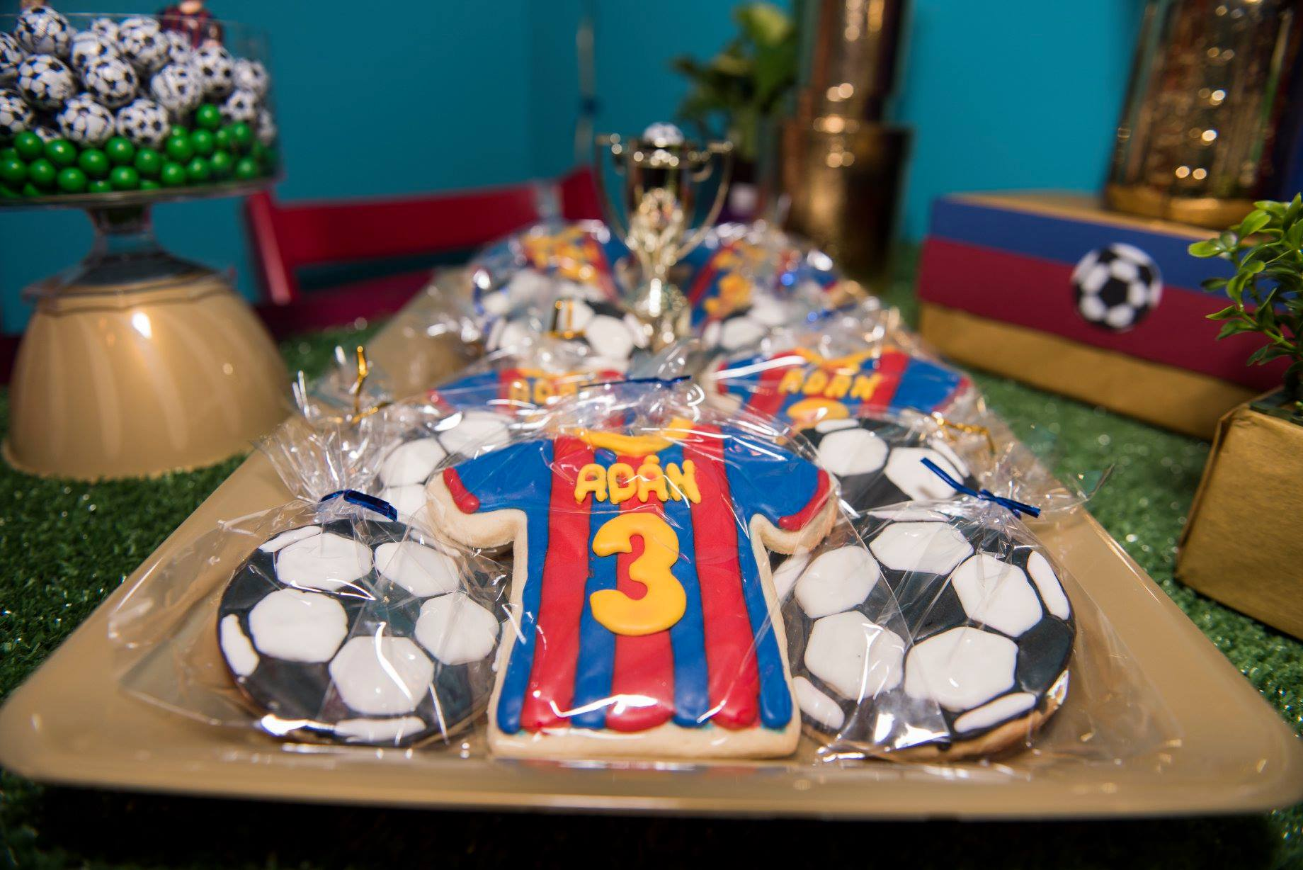 FCB Royal Icing Cookies