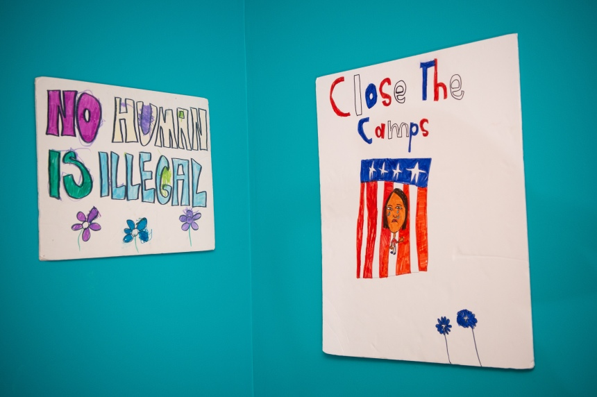 Close the camps poster