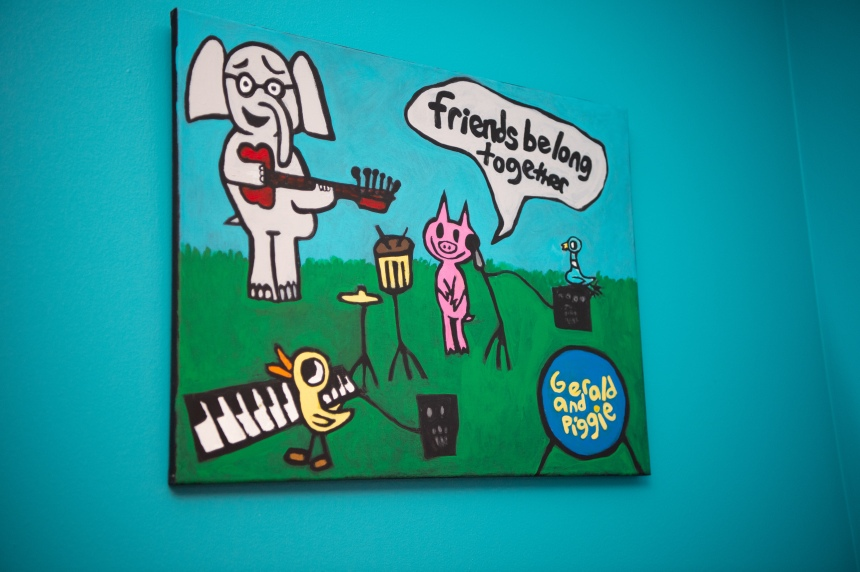 Friends Belong Together Painting
